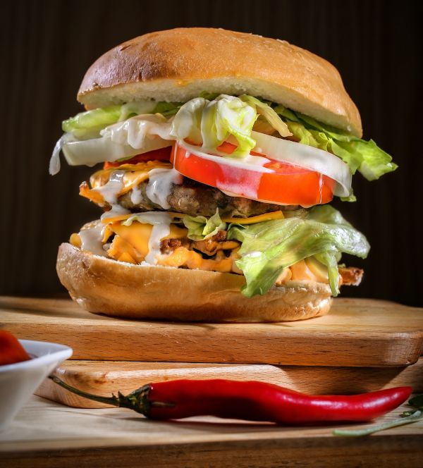 Hamburger, lucreaza cu mine pentru mancare sanatoasa, cu nutritionist Roxana Ciocaltea, Nutritie cu Roxi