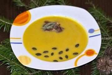 Supa crema de dovleac cu prosciuto, cu nutritionist Roxana Ciocaltea, Nutritie cu Roxi